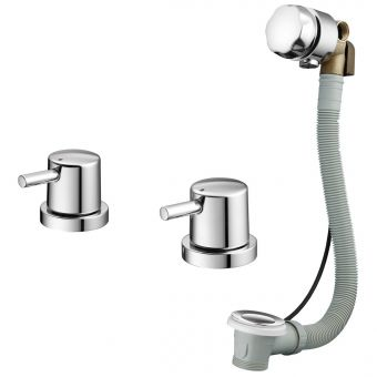 Ideal Standard Cone Idealfill Bathfiller Assembly & Operating Handles