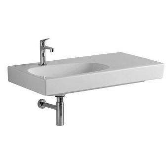 Geberit Citterio Asymmetric Washbasin with Shelf Surface