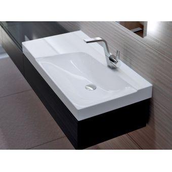 Geberit Xeno2 Cabinet for 90cm Washbasin with Shelf Surface
