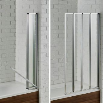 Aquadart Venturi 6 Swiftseal Four Fold Bath Screen