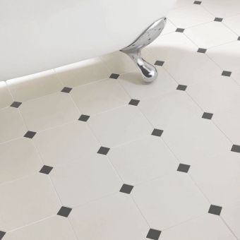 Imperial Elizabethan Octagonal Floor Tiles 20 x 20cm
