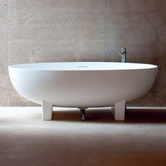 Clearwater Lacrima Freestanding Natural Stone Bath - N12