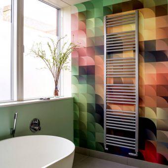 Bisque Deline Towel Radiator