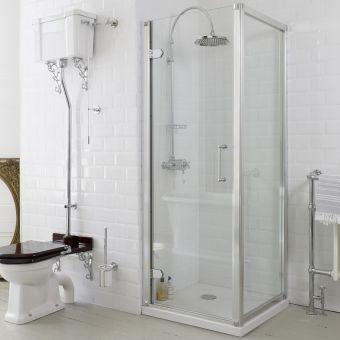 Burlington Hinged Shower Door
