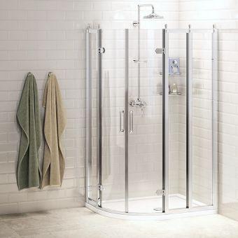 Burlington Quadrant Shower Enclosure