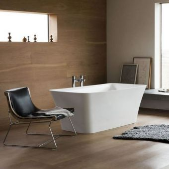 Clearwater Palermo Petite Natural Stone Freestanding Bath