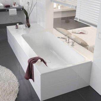 Kaldewei Asymmetric Duo Steel Bath
