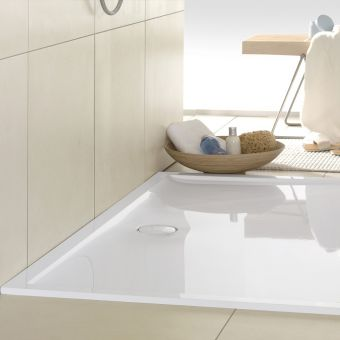 V&B Futurion Rectangular Quaryl Shower Tray