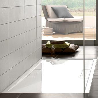 Villeroy and Boch Squaro Super Flat Rectangular Shower Tray