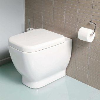 Vitra Designer Shift Back To Wall Toilet