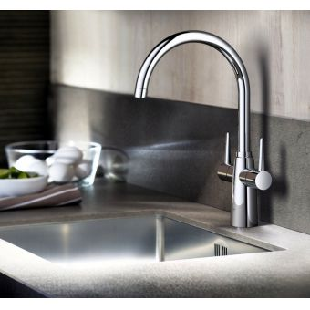 Grohe Ambi Two handle Kitchen Mixer Tap - 30189000
