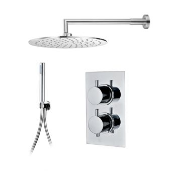 Abacus Emotion Shower Package, with Round Head & Handshower E04