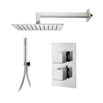 Abacus Emotion Shower Package, with Square Head & Handshower E05