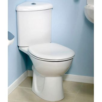 Vitra Layton Corner Close Coupled Toilet