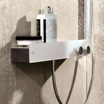 Hansgrohe ShowerTablet 600 Exposed Thermostatic Shower Valve with 2 Outlets