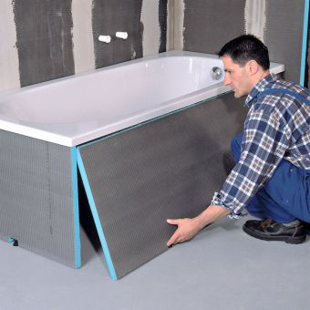 wedi Front Bath Panels