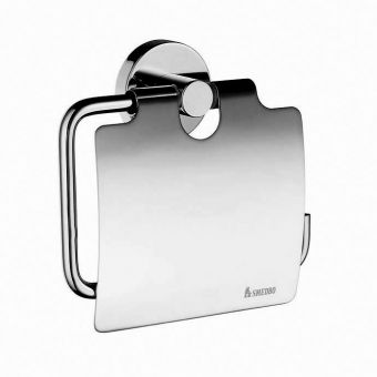 Smedbo Home Toilet roll holder with lid - HK3414