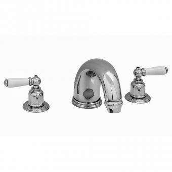 Perrin & Rowe Traditional 180mm Three Hole Bath Set