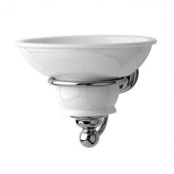 Perrin and Rowe Traditional Wall Mounted Soap Tray - 6928CP