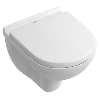 Villeroy & Boch O.Novo Compact Rimless Toilet