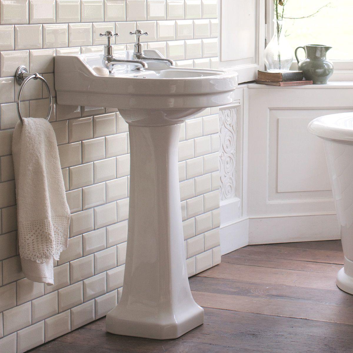Burlington Edwardian Round Basin Uk Bathrooms