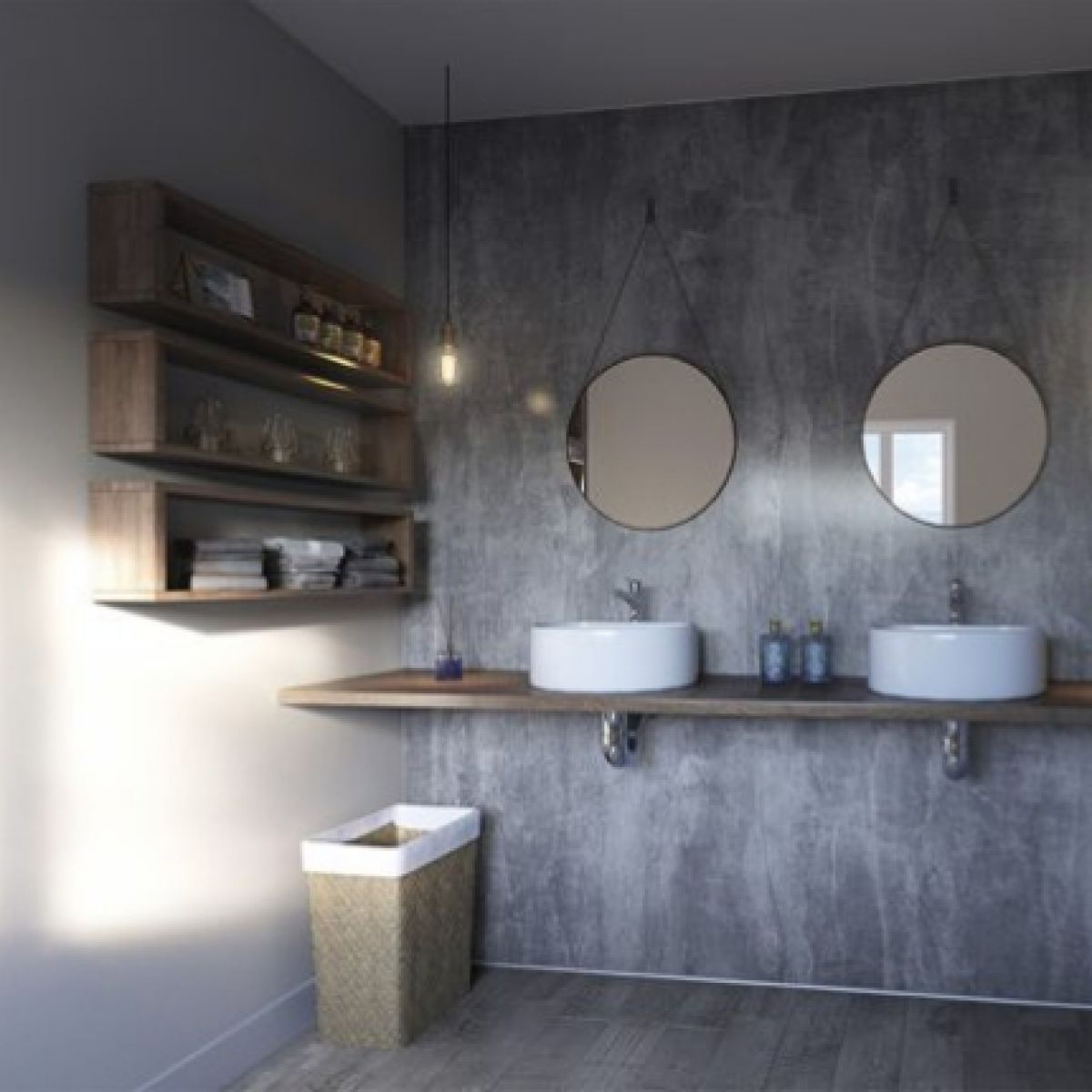 Showerwall HPL Quarry Collection Wall Panels - UK Bathrooms