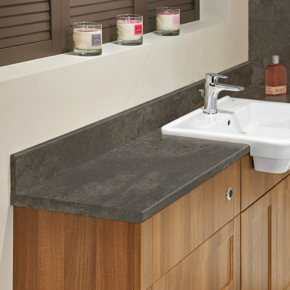 Bushboard Nuance 360mm Slim Laminate Worktop Uk Bathrooms