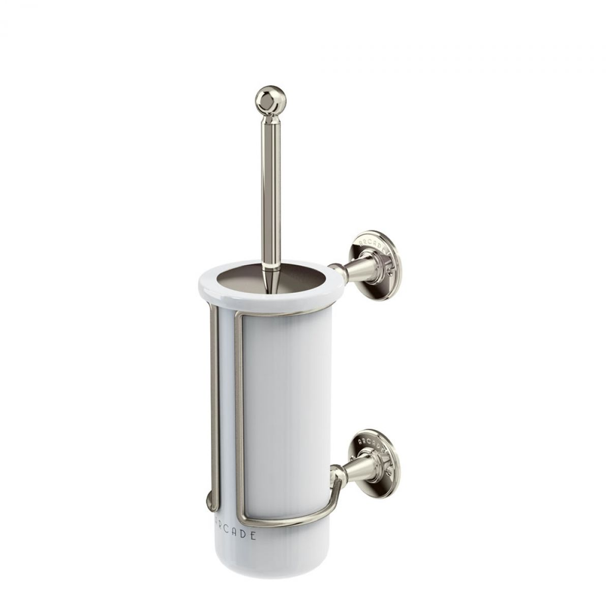 Arcade Wall Mounted Toilet Brush And Holder Uk Bathrooms