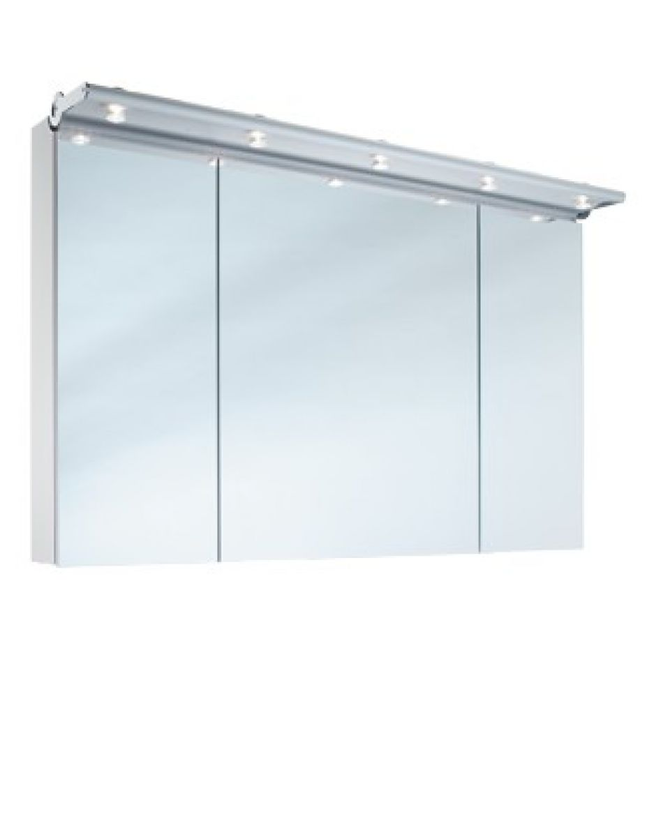schneider prideline 3 door mirror cabinet uk bathrooms