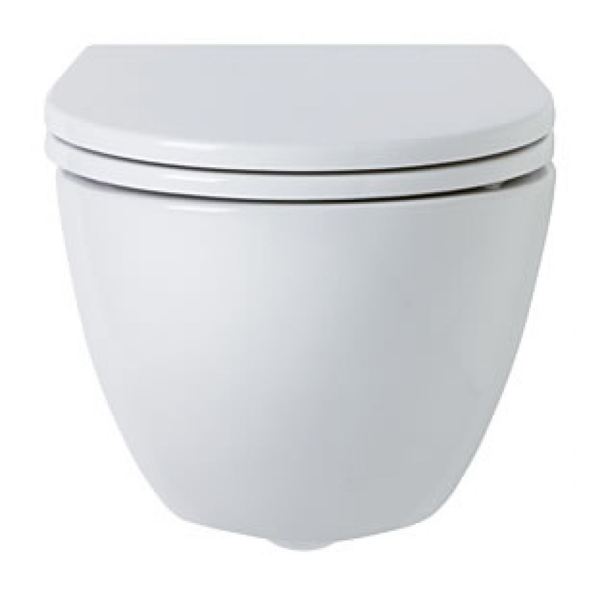 Ideal Standard White Round Wall Hung Toilet : UK Bathrooms