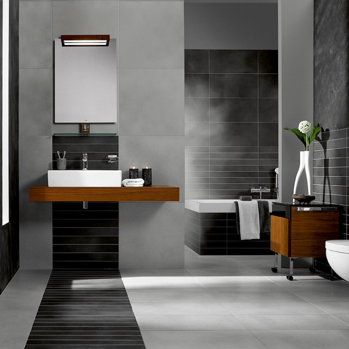 Villeroy boch bernina tiles 2408 10 x 30cm uk bathrooms - Boch and villeroy ...