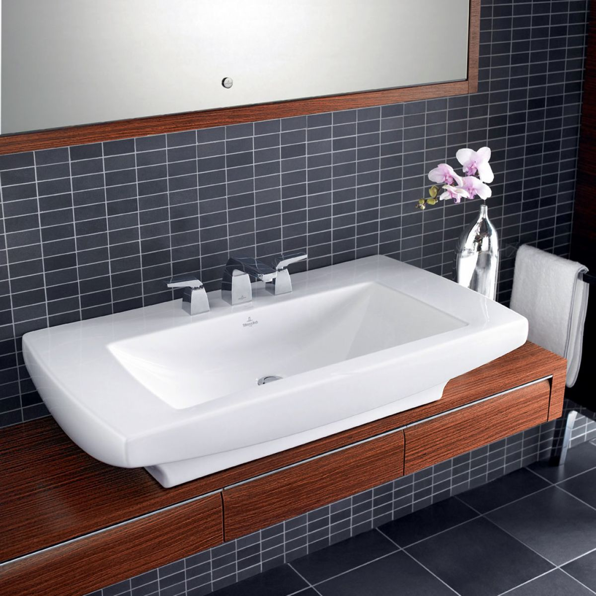 villeroy boch bernina mosaic tiles 2411 33 x - Villeroy And Boch Baths