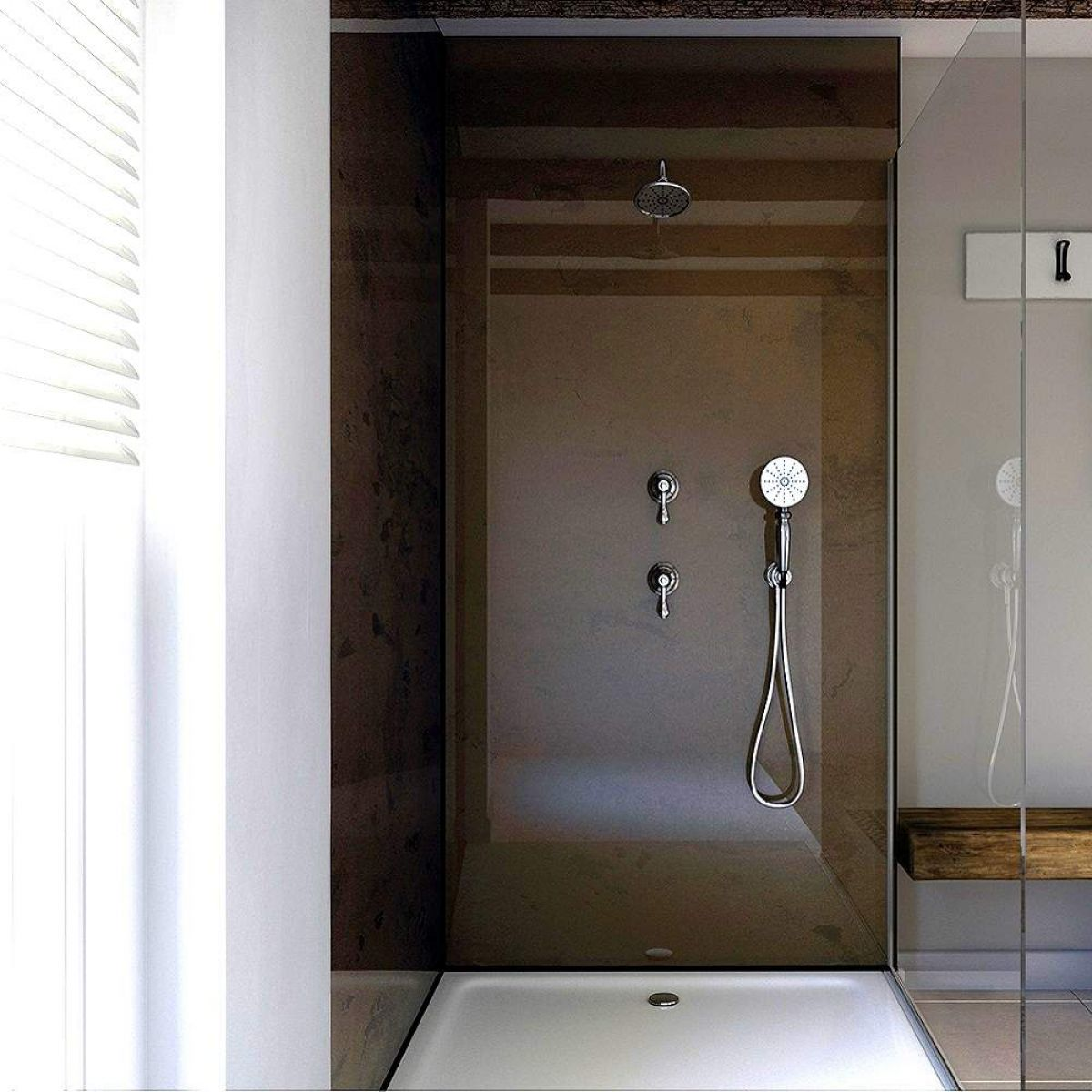 picture of laminate shower wall panels