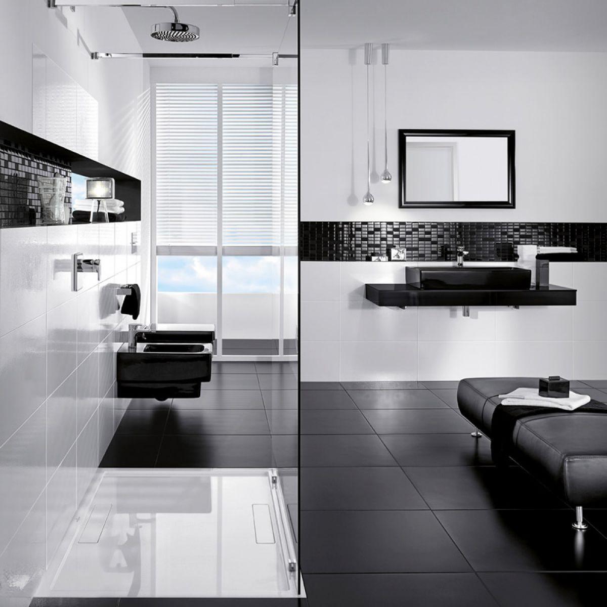 Amazing ... Villeroy U0026 Boch Bianco Nero Tile 3366 (60 X 60cm) ...