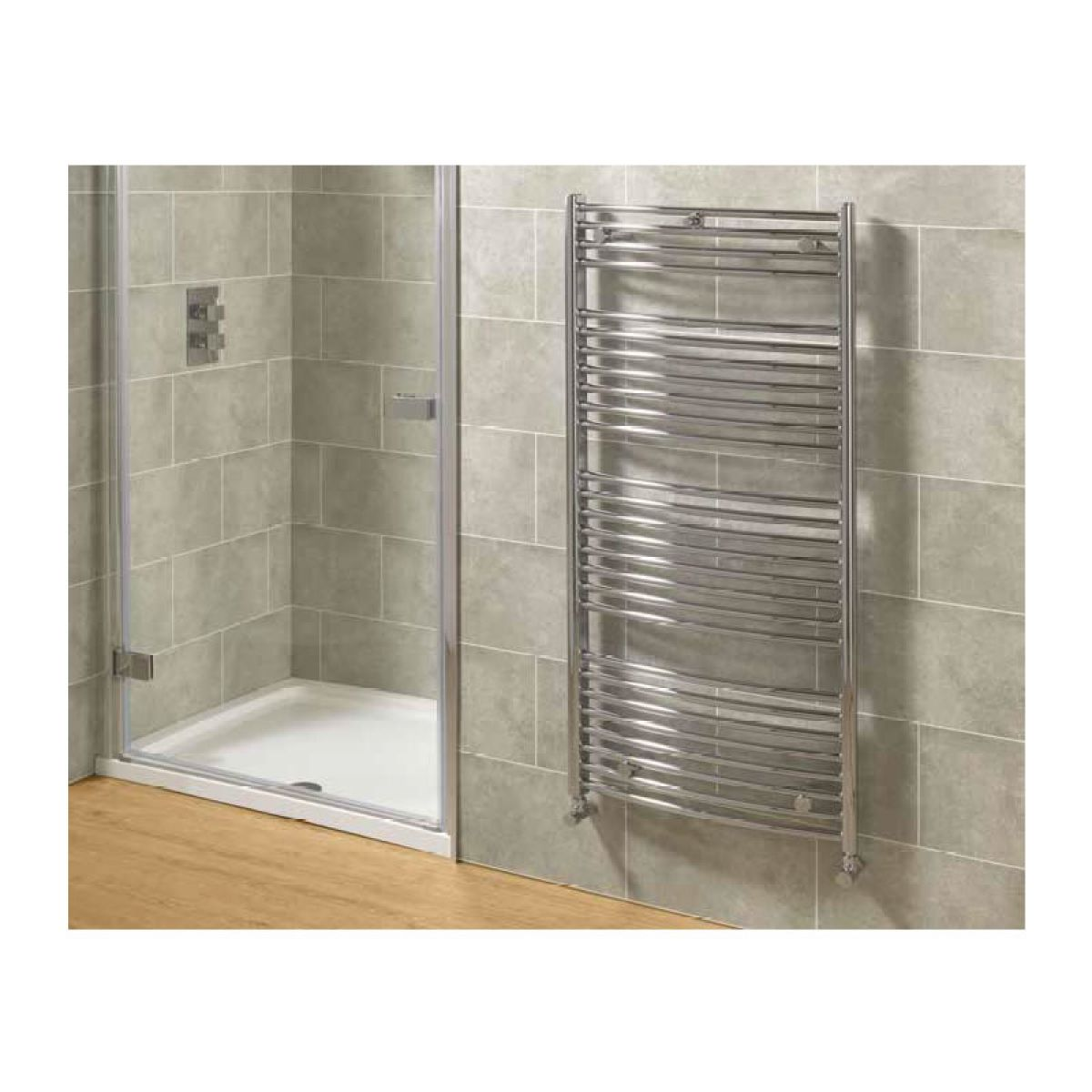 Mere Blenheim Curved Chrome Multirail Radiator