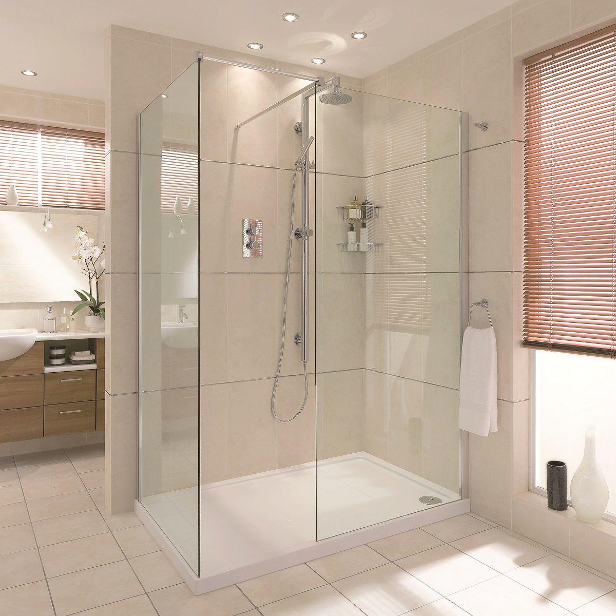 Aqata Spectra Sp405 Walk In Corner Shower Uk Bathrooms