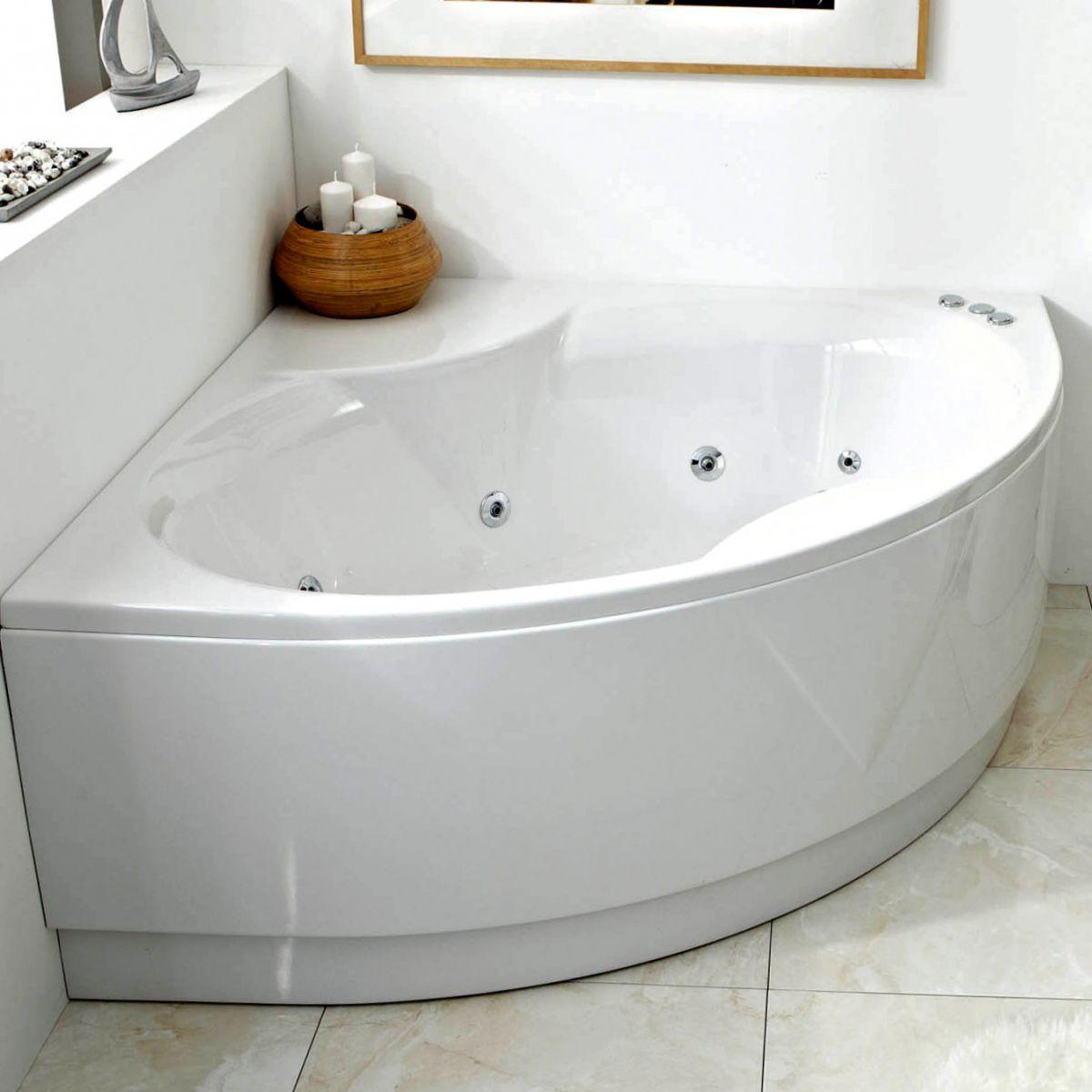 Phoenix Monaco Bow Fronted Corner Bath Uk Bathrooms