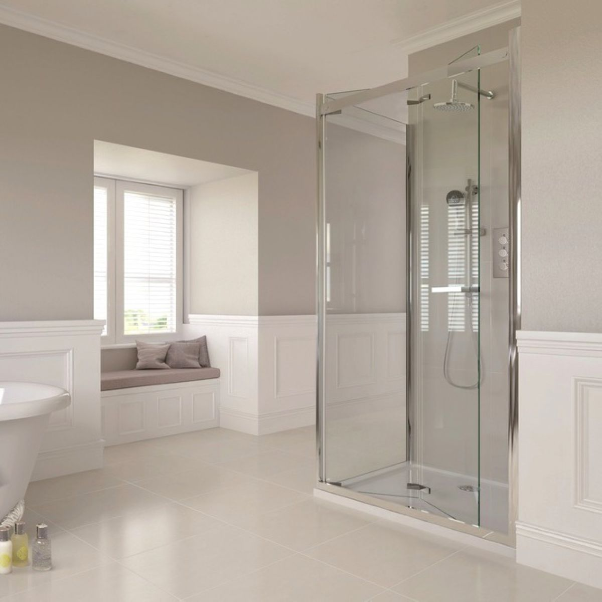 Aqata Spectra Sp481 Bi Fold Shower Enclosure