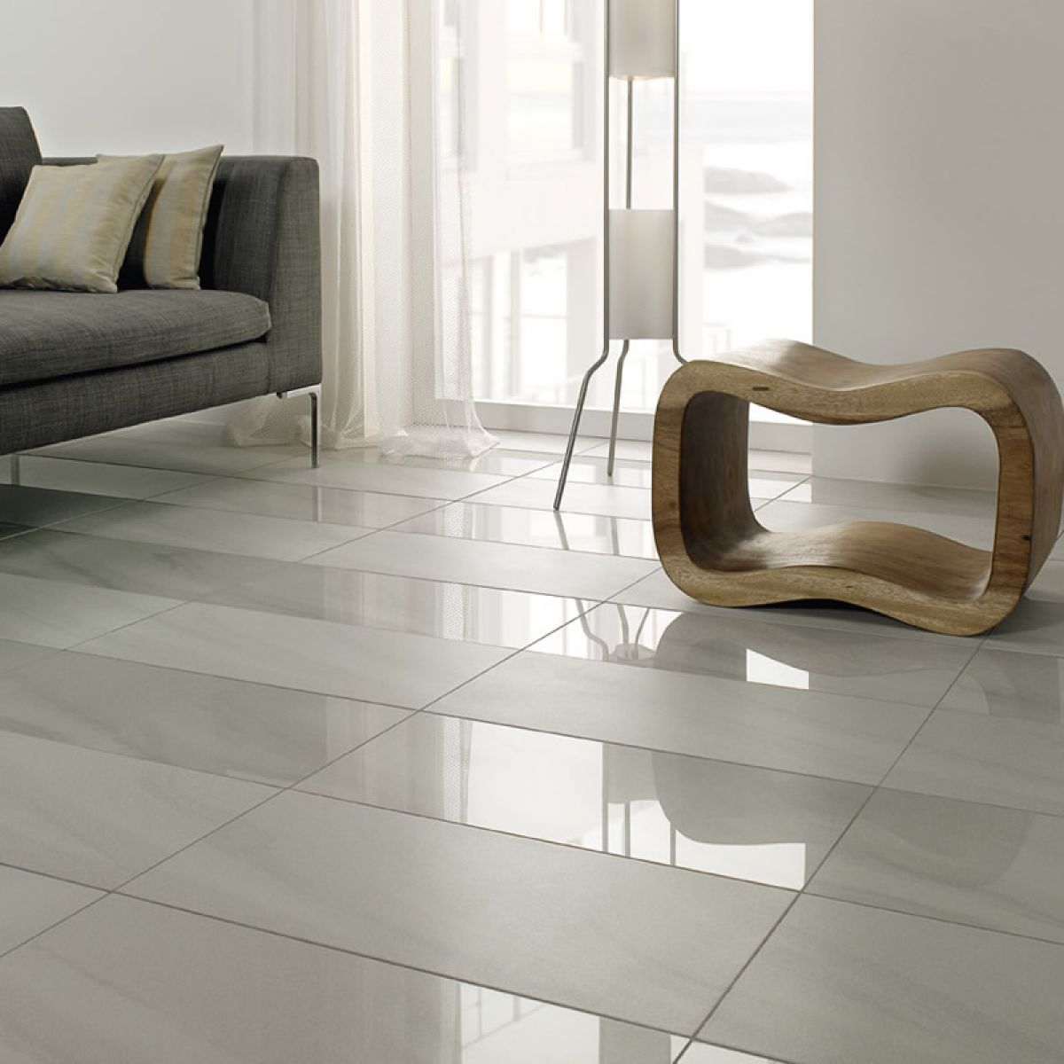 Villeroy boch landscape polished tile 2095 30 x 60cm uk bathrooms - Parquet grand passage leroy merlin ...
