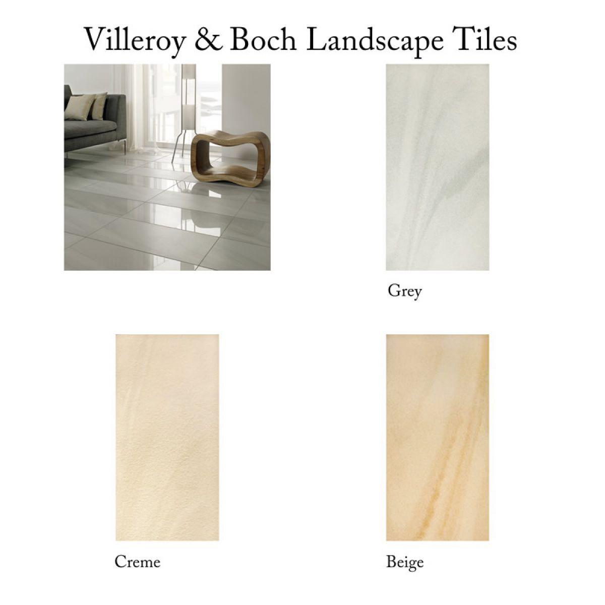 Villeroy Amp Boch Landscape Textured Tile 2093 30 X 60cm