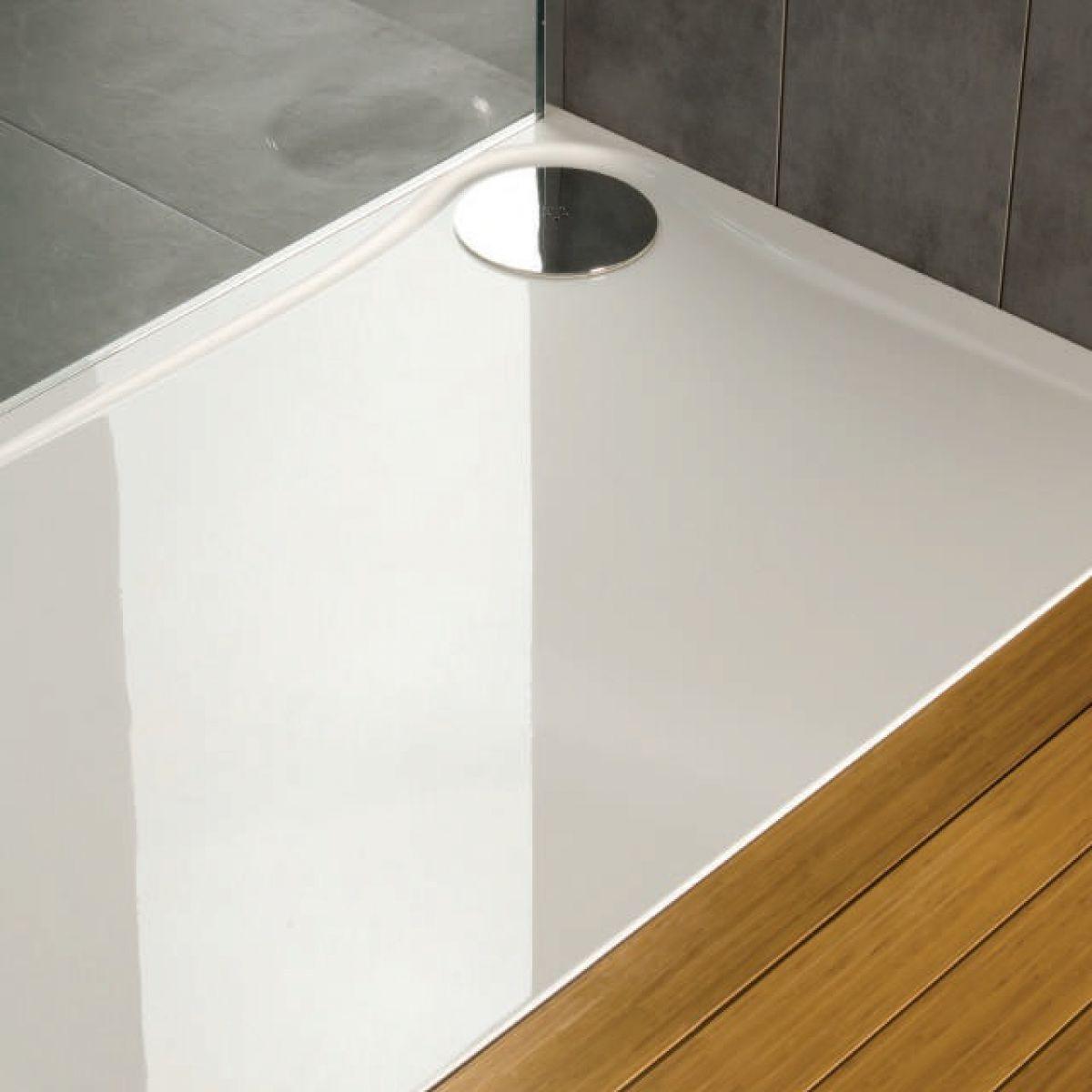 mx optimum rectangular shower tray uk bathrooms. Black Bedroom Furniture Sets. Home Design Ideas