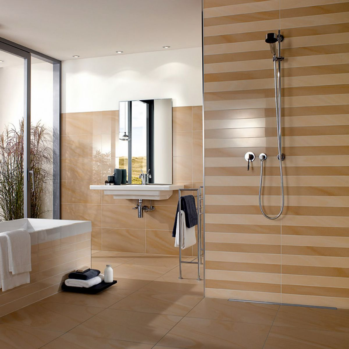 villeroy and boch bathroom tiles villeroy amp boch landscape border tile 2861 5 x 60cm uk 24494