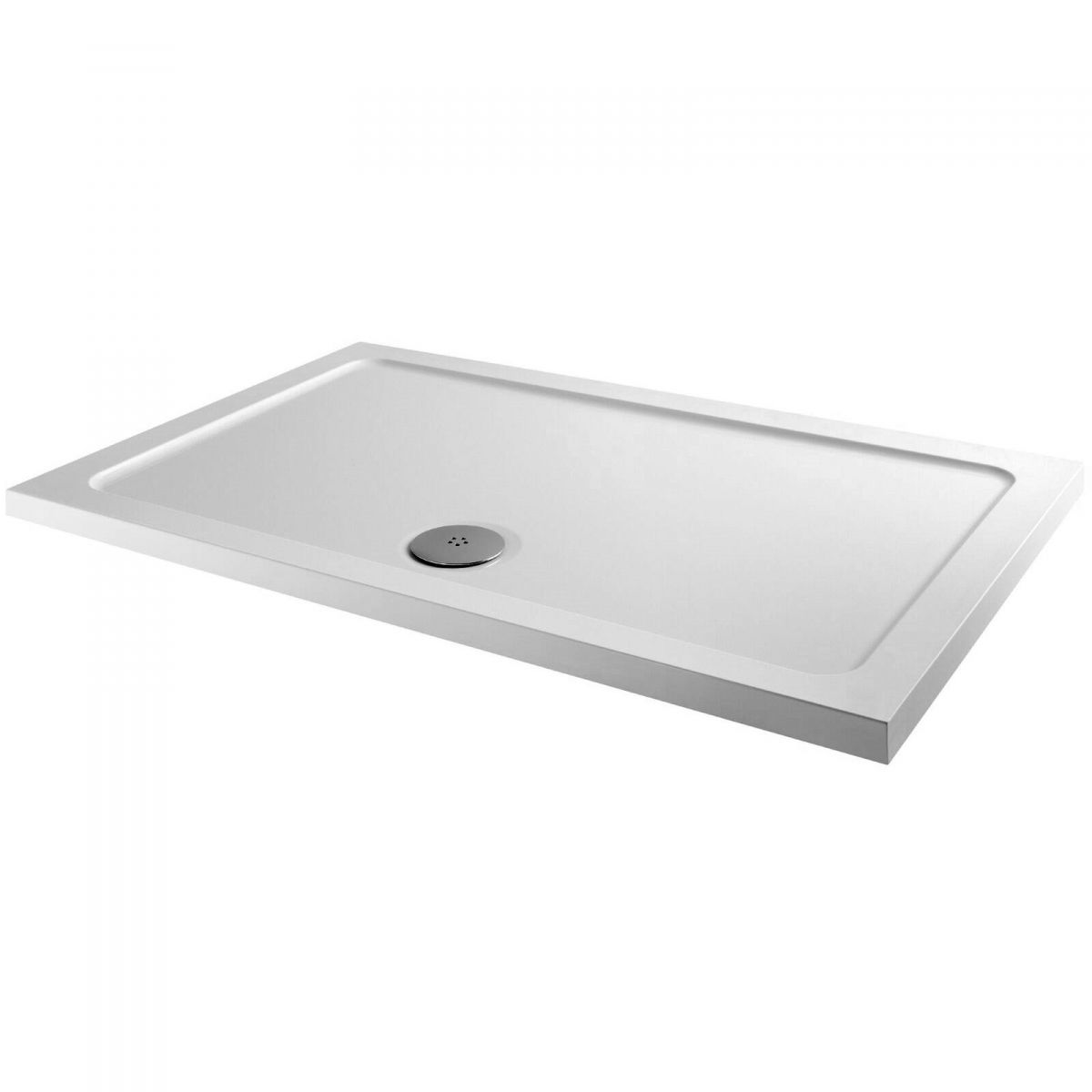 The MX Elements Rectangular Shower Tray with Waste