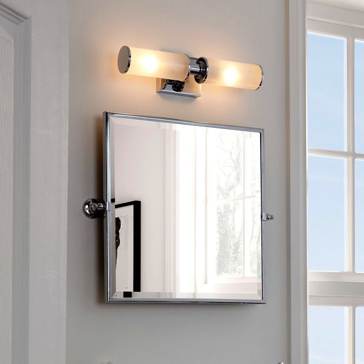 imperial isaac metal frame mirror uk bathrooms. Black Bedroom Furniture Sets. Home Design Ideas