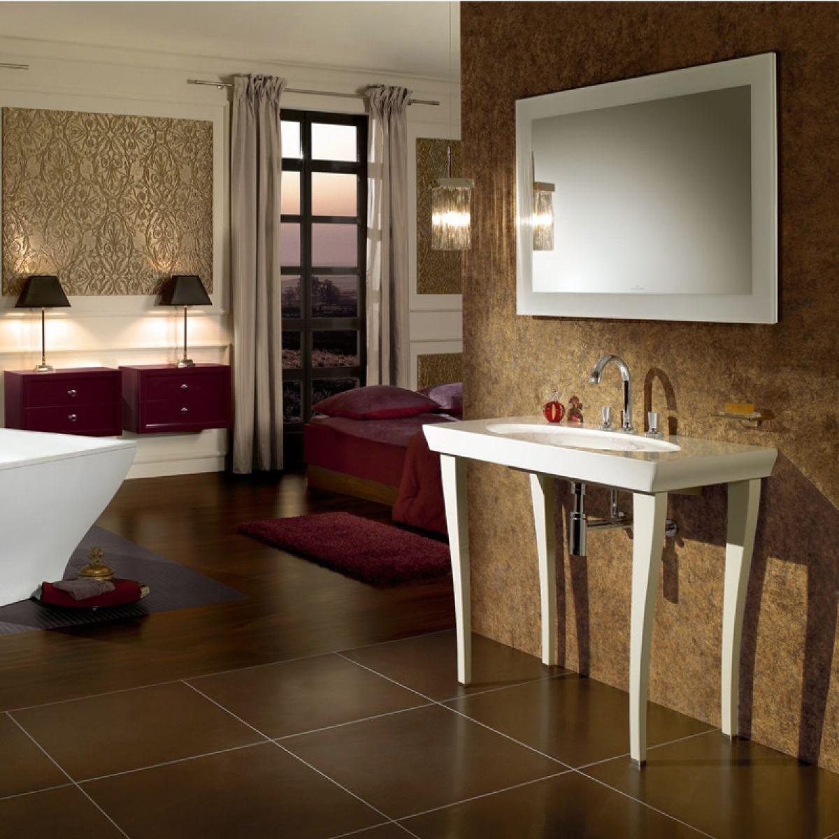 Villeroy and boch bathroom cabinets - Villeroy Boch La Belle 1000mm Washbasin 6124 11r1