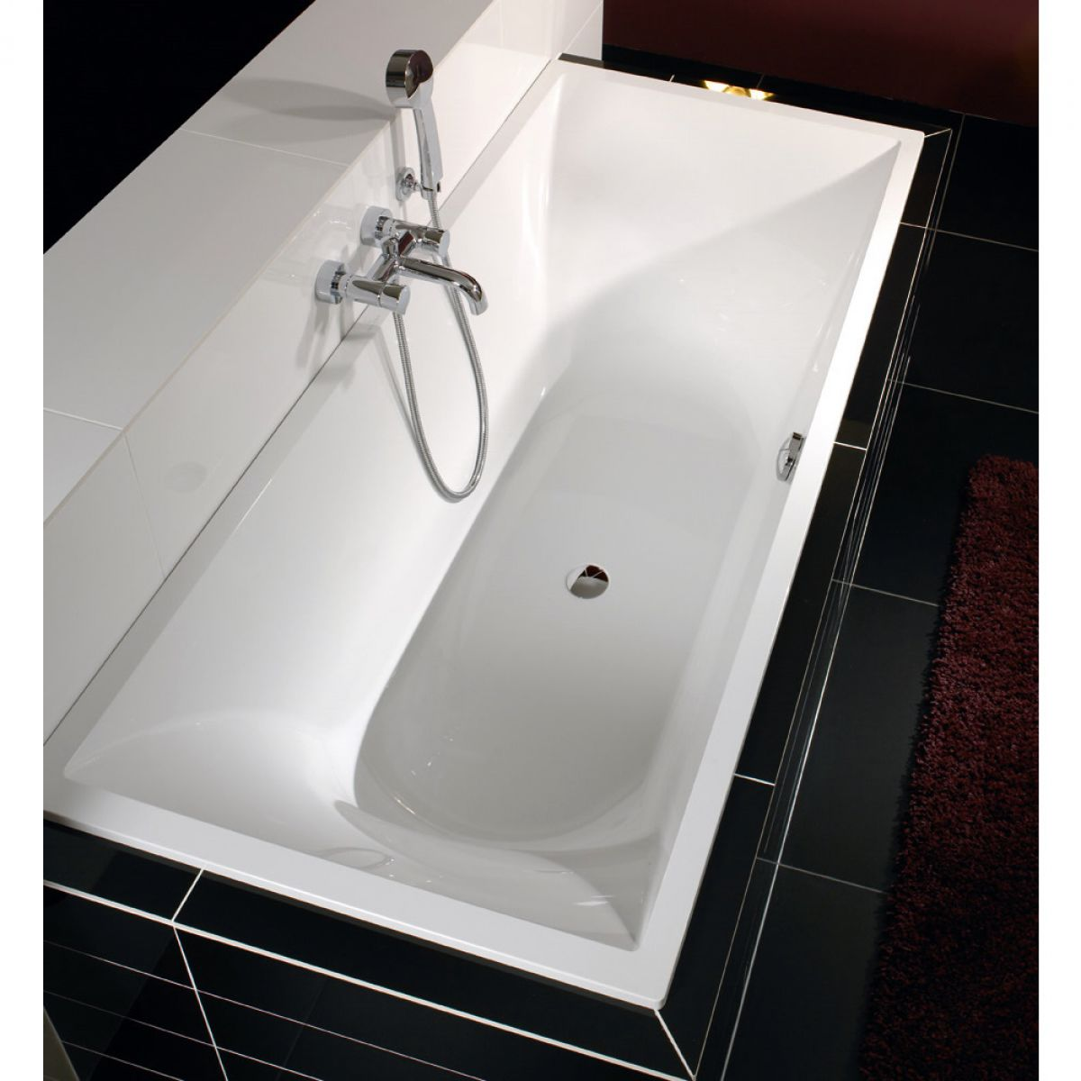 villeroy boch la belle inset bath uk bathrooms. Black Bedroom Furniture Sets. Home Design Ideas