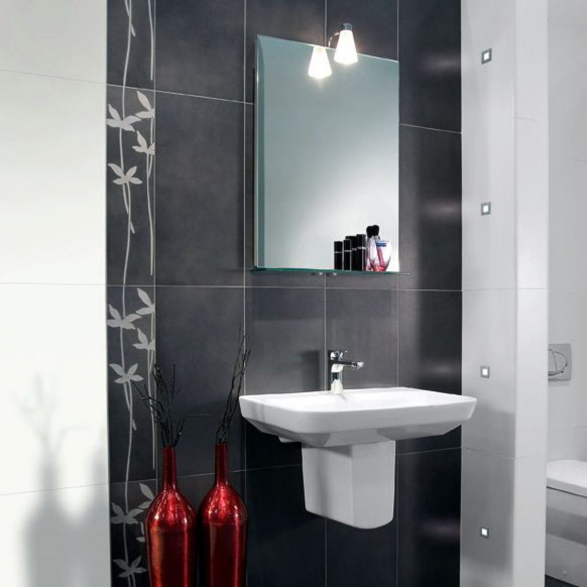 villeroy and boch bathroom tiles villeroy amp boch decor tile 2413 15 x 60cm uk 24494