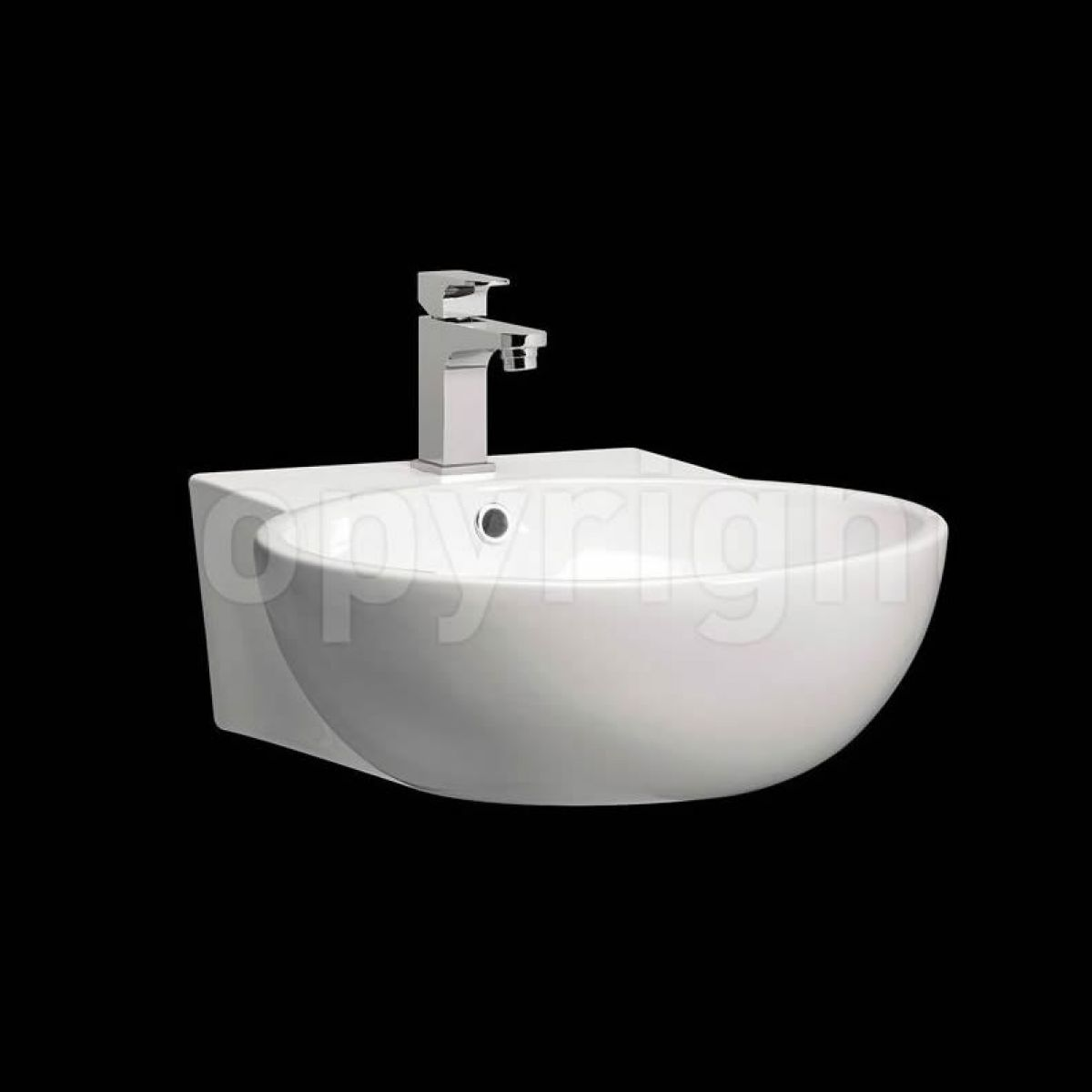Wall Hung Bathroom Basins : modest 50 wall mounted basin bauh186 m0002scw home bathrooms basins ...