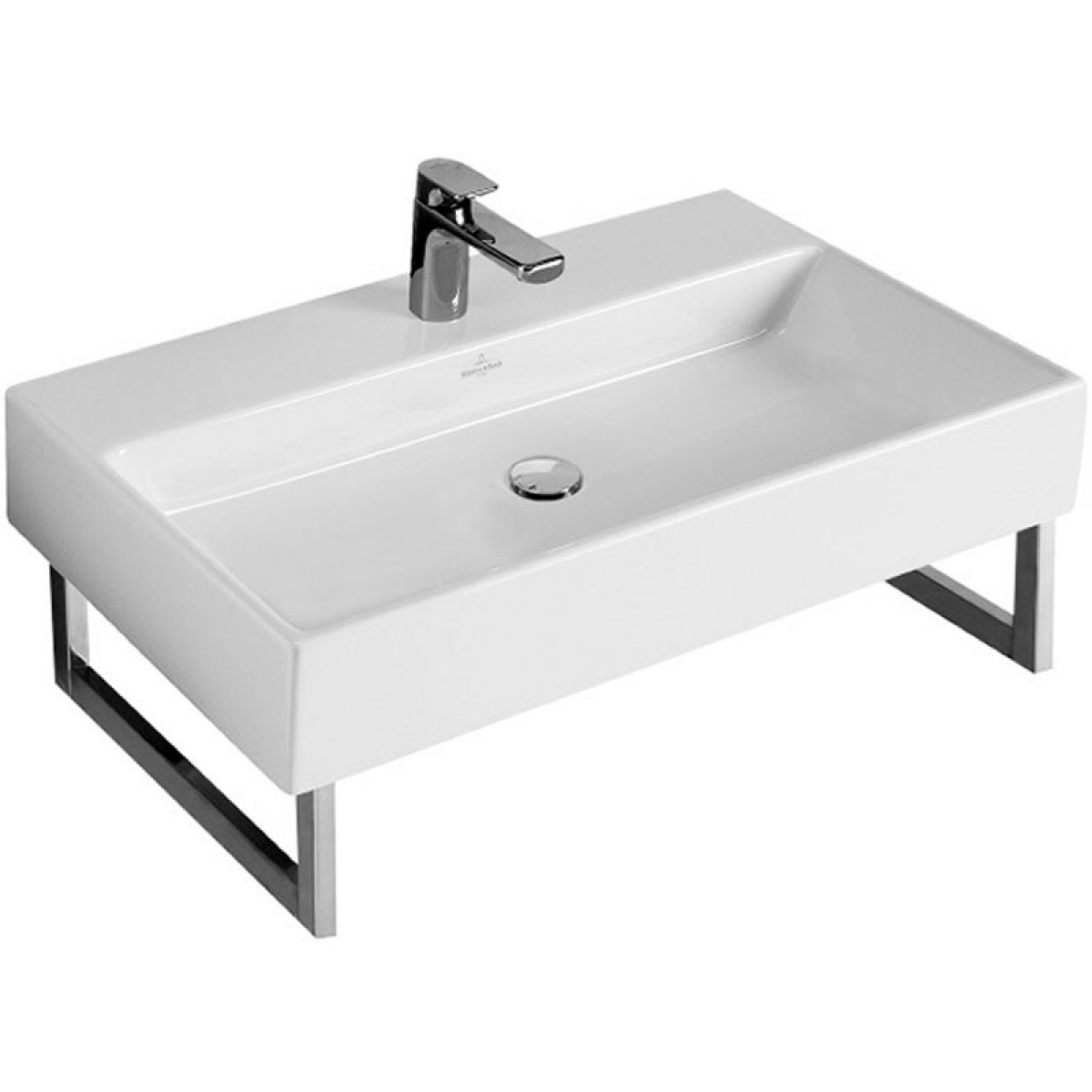 villeroy boch 800mm memento washbasin uk bathrooms. Black Bedroom Furniture Sets. Home Design Ideas