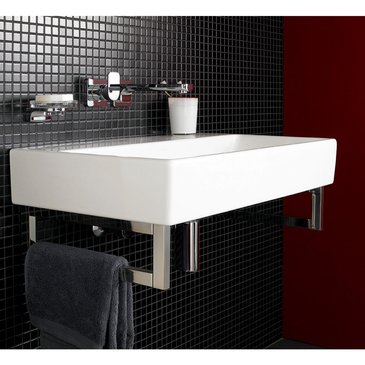 Villeroy boch 800mm memento washbasin uk bathrooms - Villeroy y bosch ...